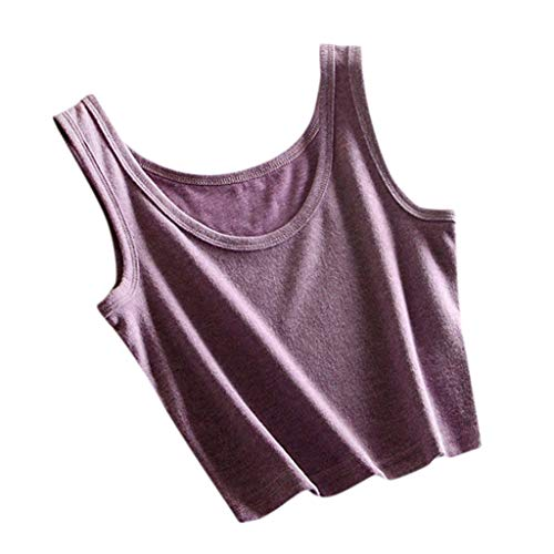Herren-utility V-neck Top (TOWAKM Tops Damen Sommer top Handle Pailetten top top Bekleidung- Damen Tops&Bluse v Ausschnitt Damen top)