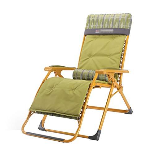 Textilène Chaise Pliante Chaises Inclinables Chaises de Jardin Zero Gravity Relaxer Garden avec Repose-tête avec Porte-gobelet (Couleur : #2)