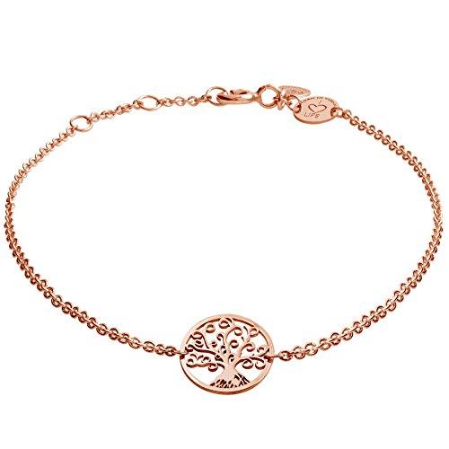 laviida-bab901rg-damen-armband-baum-albero-sterling-silber-925-rose-19-cm