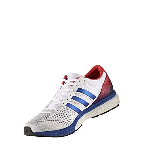 adidas Adizero Boston 6 Aktiv, Chaussures de sport mixte adulte white