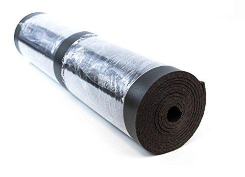 Thermo-Isolierungsmaterial, 5m x 1m x 5mm, geschlossenporiger Schaumstoff, Polyethylen, schalldämpfend, für Fahrzeuge