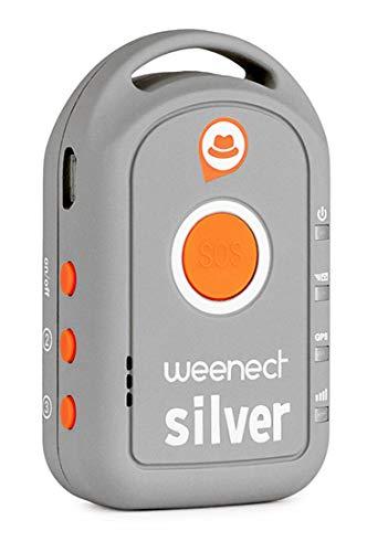 Weenect Silver WE401 - Localizador GPS para mayores (importado)