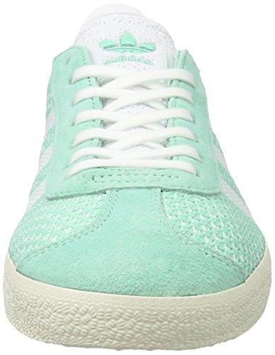 best service 231b7 c375f adidas Gazelle Primeknit, Scarpe da Ginnastica Basse Donna Verde (Easy Green  footwear White ...