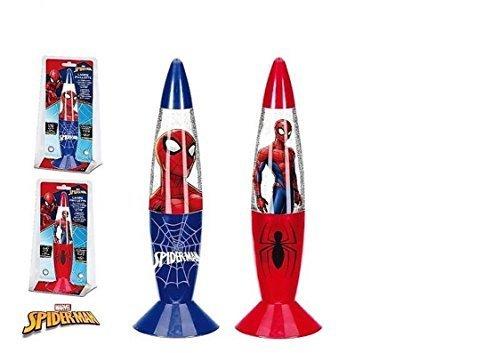 Lampe Spiderman GM Shake und Glanz Zimmer Kinder- Blau - LQ2050