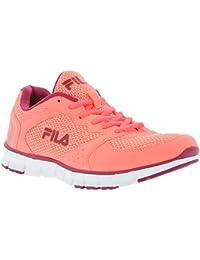 Fila - Zapatillas de tela para mujer rosa Rosa