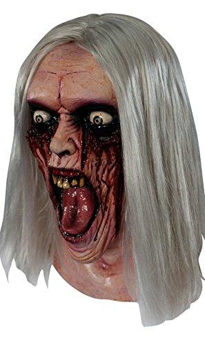Máscara de zombie ensangrentado
