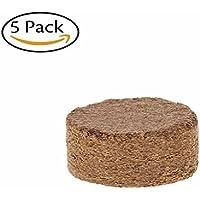 Lunji Quel ltabs torf ttabs Siembra turba para tablette, Coconut Fiber Coir Pellet nährboden, 5Unidades, diámetro DE 40mm