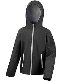 Result Core Kids Unisex Junior Hooded Softshell Jacket