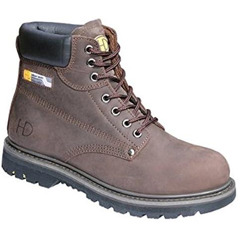 Heavy Duty 33P Steel Toe Boots Maschile