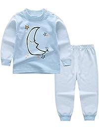 KINDOYO Lindo Impresión Pijamas Set Para Unisexo Niño Minions, Pijama para Niños, ...