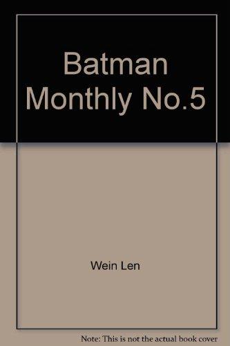 Batman Monthly No.5
