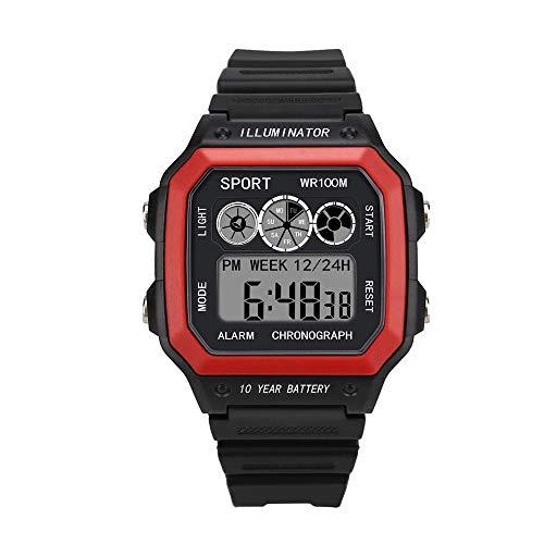 VECDY 2019 Urh Herren Hohe Qualität Men's Sports Quartz Watches Luxury Men Analog Digital Military Sport LED Waterproof Wrist Watch ode zu sehen