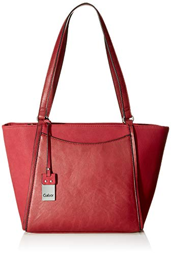 Gabor Shopper Damen Bettina, (Rot), 40x25x13.5 cm, Gabor Tasche Damen