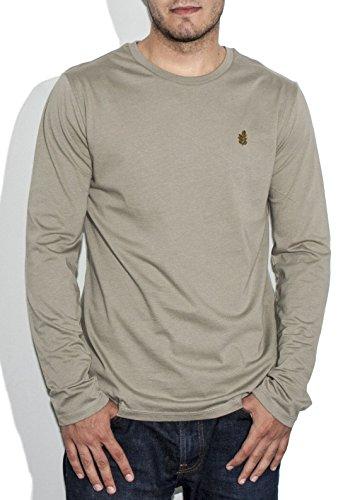 Preisvergleich Produktbild Moringa Herren Langarmshirt schwarz Kaki M