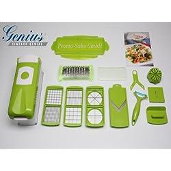 Cortador de verduras corta ralla trocea frutas y verduras nicer dicer plus
