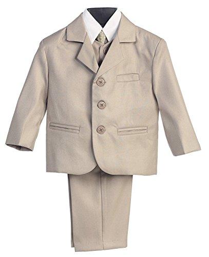 Boy 's 3Taste 5Teile Anzug mit Hemd, Weste und Krawatte 6-12 meses ()
