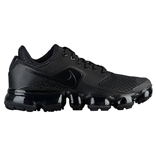 Nike Air Vapormax (Gs), Chaussures de Running Compétition Mixte Enfant, Noir (Black/Black-Dark Grey-Total Crimson 002), 35.5 EU