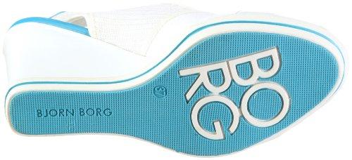 Björn Borg Footwear Hillyard 01, Sandales mode femme Neige