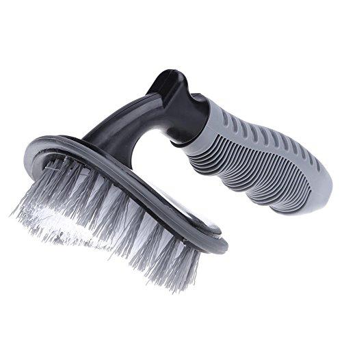 Vanpower véhicule Arc Brosse de lavage de voiture Pneu Jante Brosse de nettoyage Poignée Outil de nettoyage