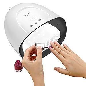 Lámpara Ultravioleta del Clavo del Secador LED 60W para El Polaco del Gel, Profesional para El Polaco del Gel del Clavo,Ajuste Automático del Contador De Tiempo del Sensor