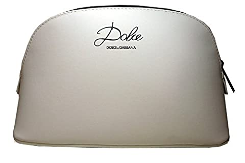 Dolce & Gabbana Dolce White Cosmetic Makeup Bag Pouch