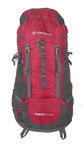 StanSport 70+ 10L interne Rahmen Pack, rot -