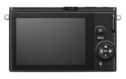 Nikon 1 J4 Systemkamera (18 Megapixel, 7,5 cm (3 Zoll) LCD-Display, Full HD Videofunktion) Kit inkl. 10-30mm PD-Zoom Objektiv schwarz - 5