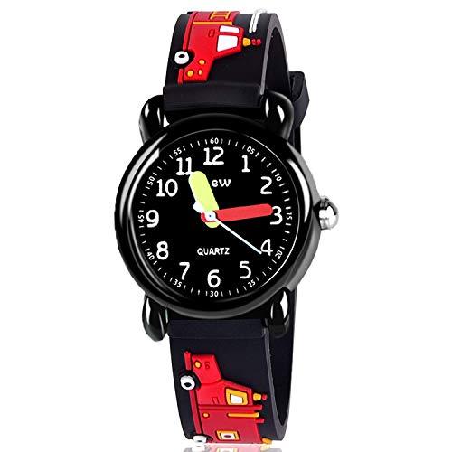 EUTOYZ Geschenke für Jungen ab 3-12,Kinderuhren für Jungen 4-12 Jahre Alten Jungen Uhren für 4-12 Jahre Alten Jungen Geschenke präsentiert(style4)