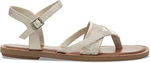TOMS Womens Lexie Open Toe Casual Slingback Sandals