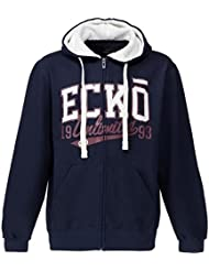 ECKO UNLIMITED-Chaqueta polar para hombre capucha, color , tamaño small