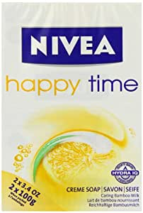 NIVEA Happy Time Creme Soap 100g - Pack of 2