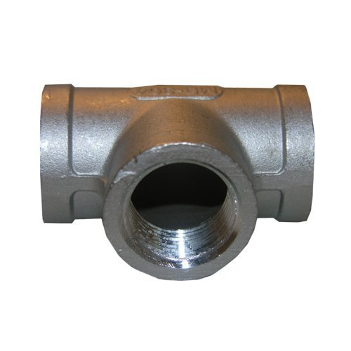 Female Pipe Thread Tee (LASCO 32-2407 1/2-Inch Female Pipe Thread Type 304 Stainless Steel Tee by LASCO)