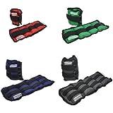 Hansson.Sports - Pesas en forma de manguito, para tobillo/muñeca 2x1,5KG blau