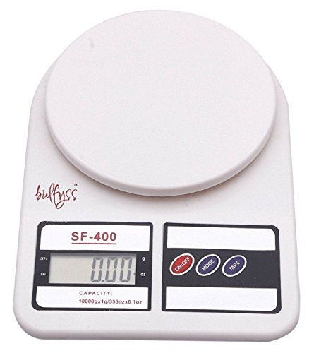 Bulfyss Electronic Kitchen Digital Weighing Scale 10 Kg