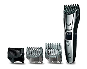 Panasonic ER-GB80 Beard, Hair and Body Trimmer. Wet & Dry. (40x lengths, 3 Attachments) from Panasonic
