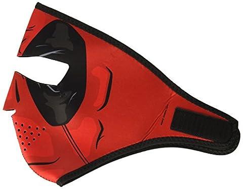 Zan Headgear Full Face Red Dawn Neoprene Protective facemask by Zanheadgear