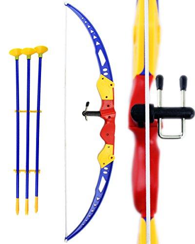 Kinder Spielzeug Bogen GYD Bunt mit Pfeilen Set Kinder Bogen mit Zielvorrichtung