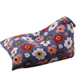 pondkoo Kinder Stofftier Plüsch Spielzeug Baumwolle Aufbewahrung Sitzsack Soft Pouch Streifen Stoff Stuhl mit Doppelreißverschluss 65 * 95 * 55cm I
