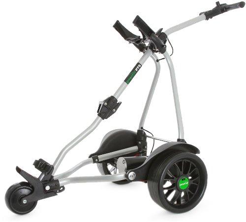 GreenHill PTS (Bremse) Skyline Elektro Golf Trolley silber 27 hole battery
