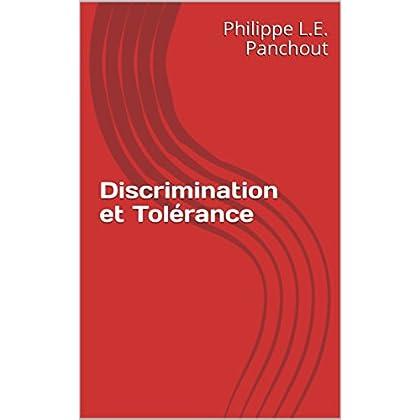 Discrimination et Tolérance