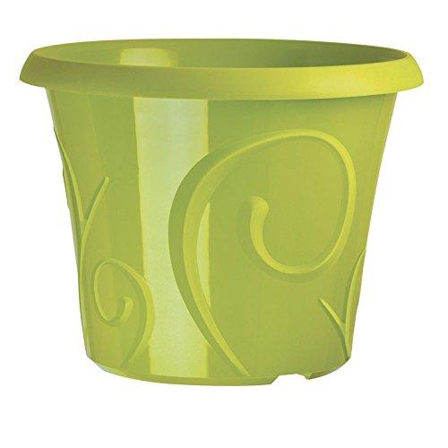 Pot Déco Volute Vert Chartreuse 2.2 Litres