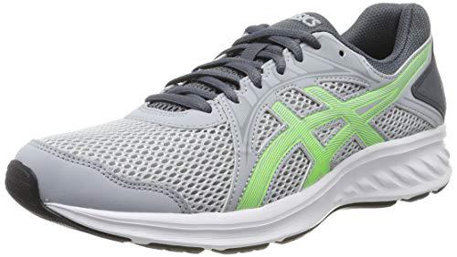 Asics Jolt 2, Zapatillas de Running para Hombre, Gris (Piedmont Grey/Green Gecko 023), 40.5 EU