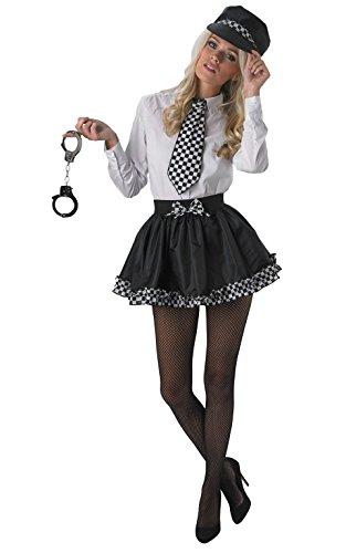 Rubie 's Offizielles Damen Polizei Tutu-Set Fancy Kleid, Erwachsenen-Kostüm-One Size
