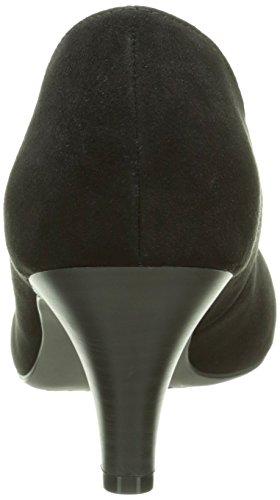 Tamaris 22415, Escarpins Femme Noir (black Suede 004)