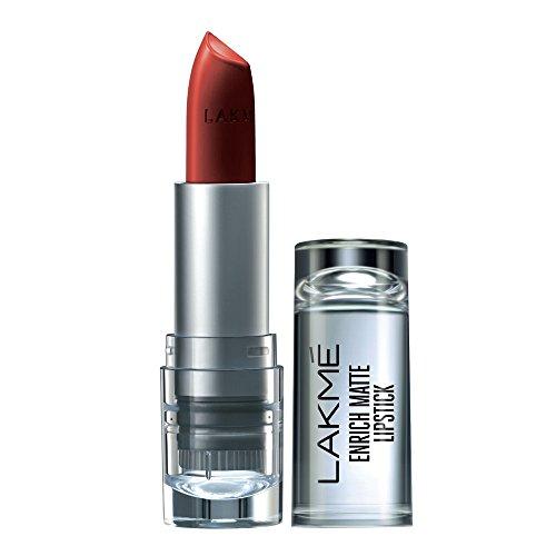 Lakme Enrich Matte Lipstick, Shade RM12, 4.7 g