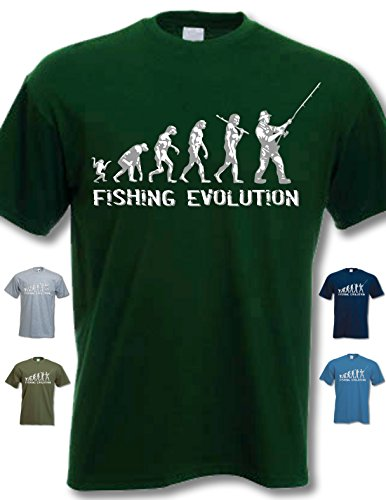 My Generation Gifts Fishing Evolution - Funny Birthday Gift/Present Mens T-Shirt