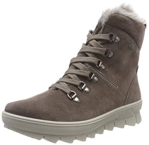 Legero Damen Novara Schneestiefel, Braun (Bisonte 49), 39 EU (6 UK) Faux Suede Sneakers