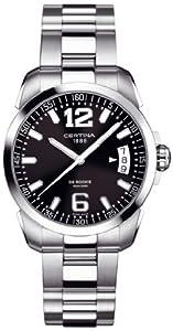 Certina C016-410-11-047-00 - Reloj de cuarzo para hombre, con correa de acero inoxidable, color multicolor de Certina