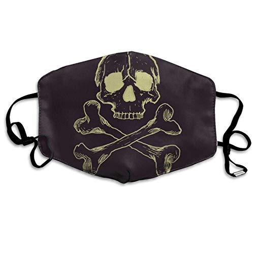 Halloween-Mundmaske, Unisex, bedruckt, modisch, Anti-Staub-Masken