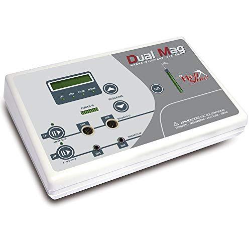 Dual mag magnetoterapia professionale ad alta e bassa frequenza, 4 canali, 92 programmi